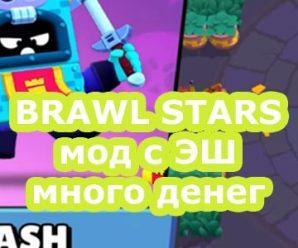 Скачать взломанный BRAWL STARS с ЭШ 37.238 (Мод много денег)