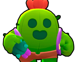 Spike — герой Brawl Stars